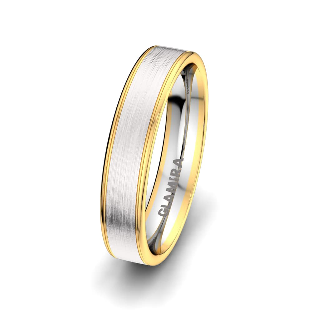Men's Ring Elegant Reflection 5 mm