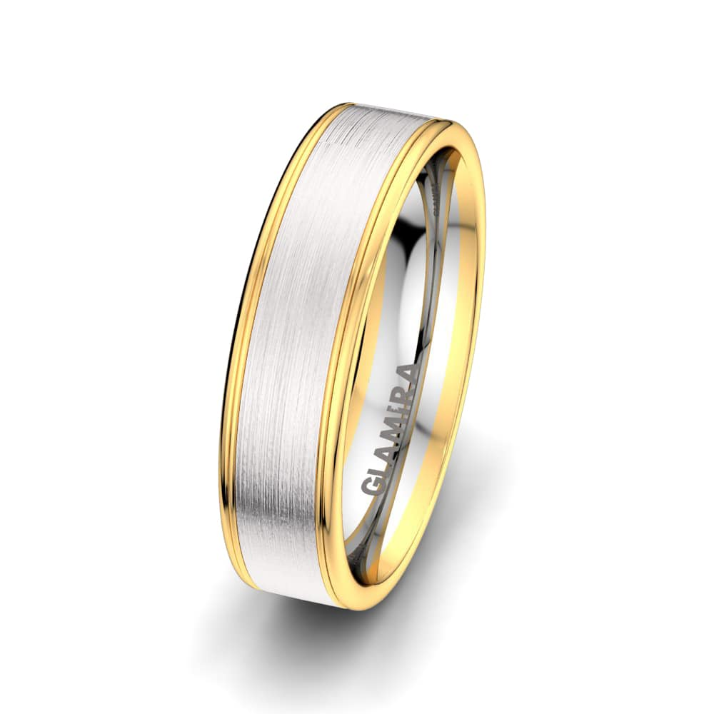 Men's Ring Elegant Reflection 6 mm