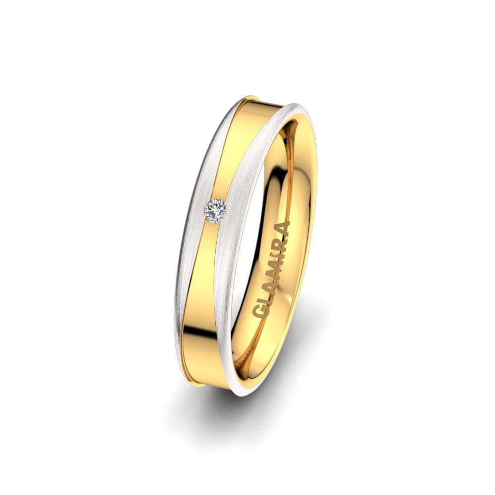 Women's Ring Heavenly Blaze 4 mm