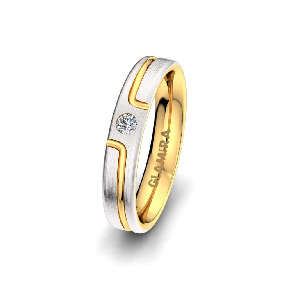 Damenring Charming Diamond 4 mm