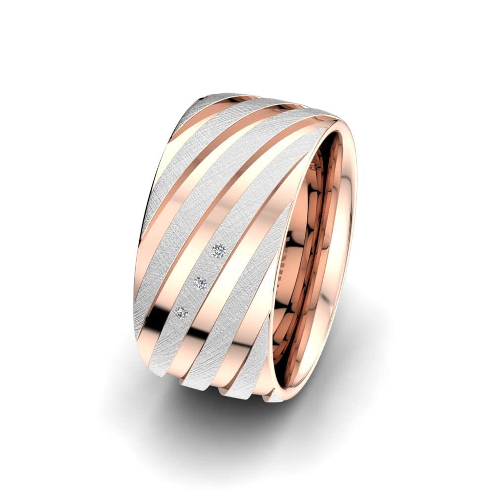 Ženski prstani Attractive Crimp 10mm