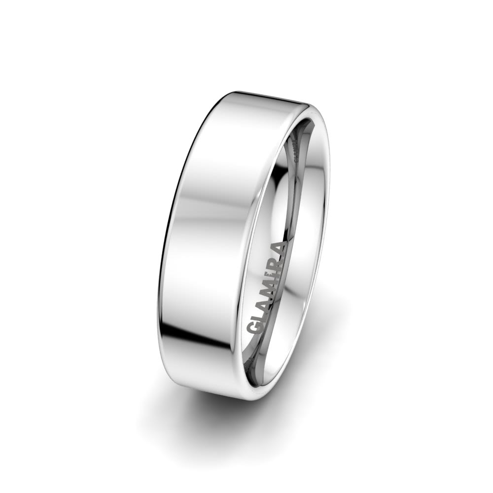 Men's Ring White Light 6 mm