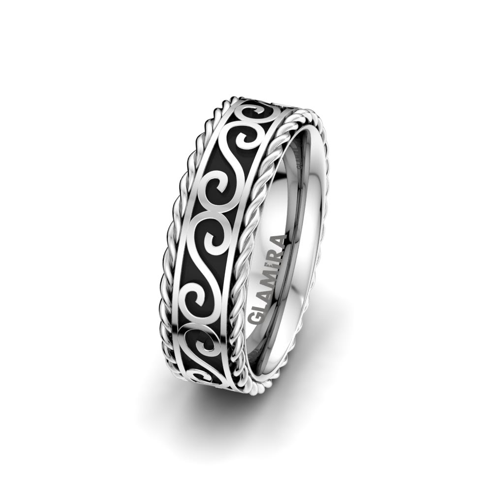 Men's ring Infinity Knot