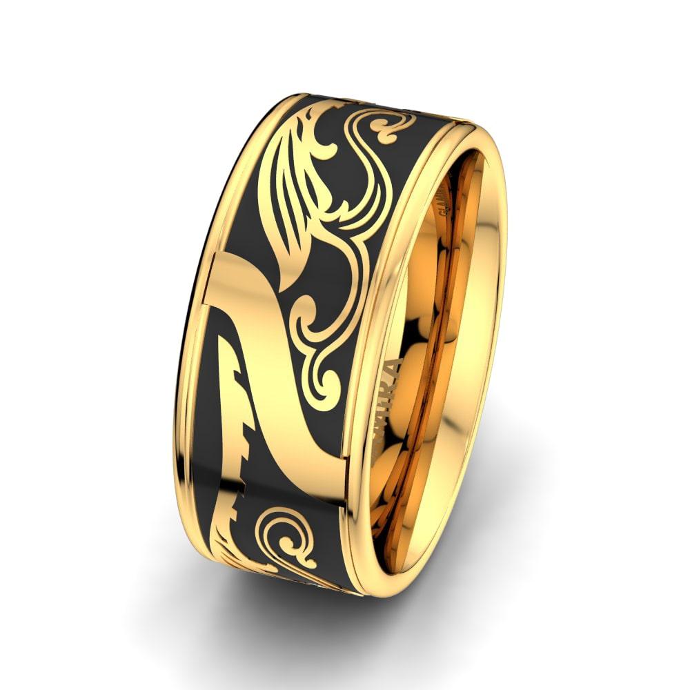 Nákup Pánské prsteny Mystic Cycle 10 mm   GLAMIRA.cz 7854f24494d7