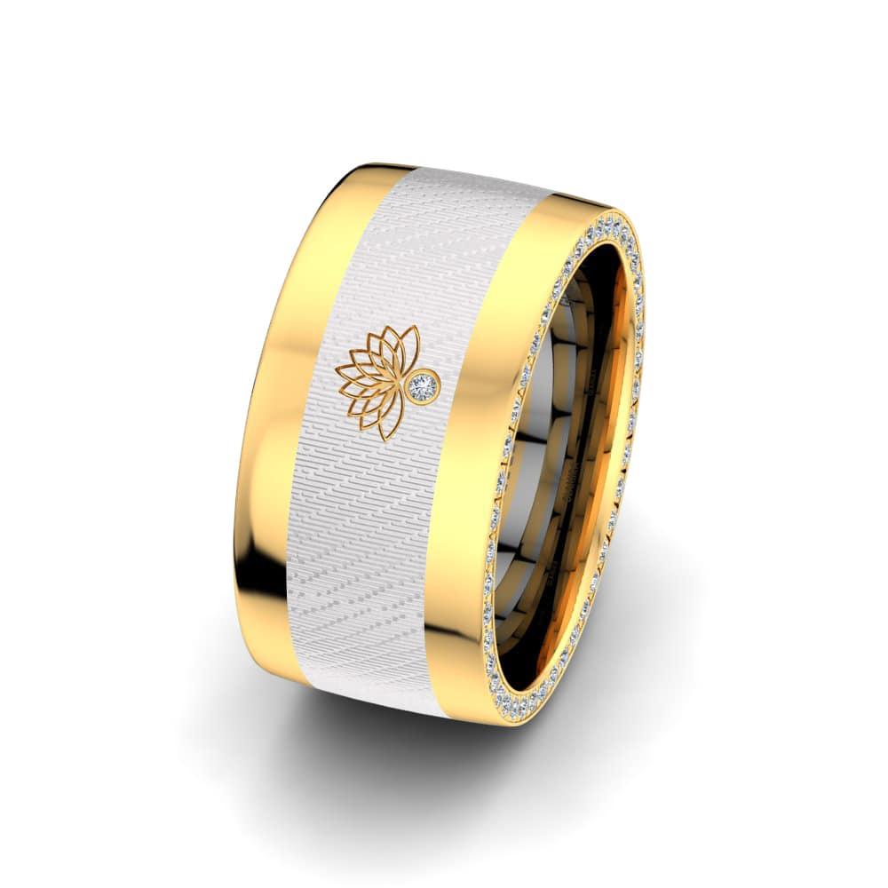 Women's Ring Secret Lotus 10 mm