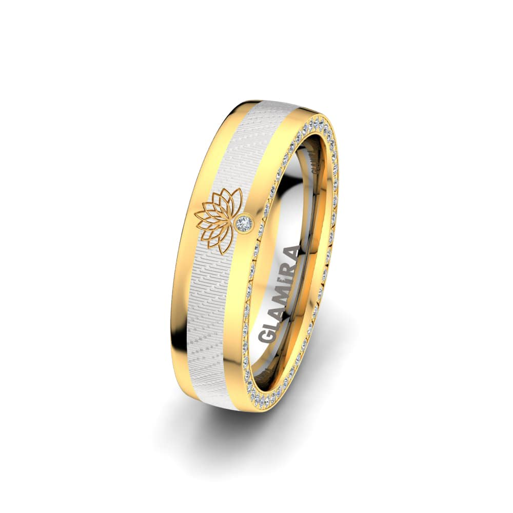 Women's Ring Secret Lotus 5 mm