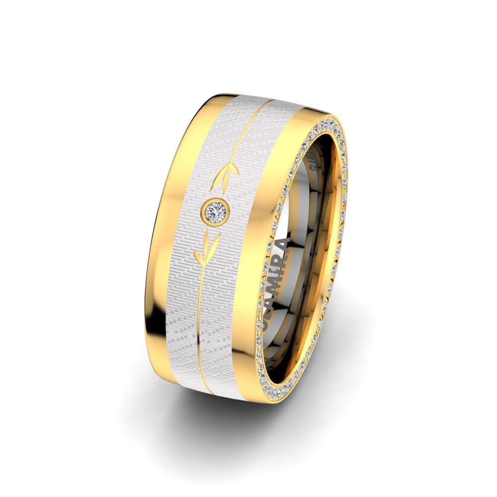 Women's Ring Sensual Flower 8 mm