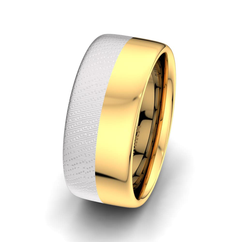 Men's Ring Sensual  Line 10 mm
