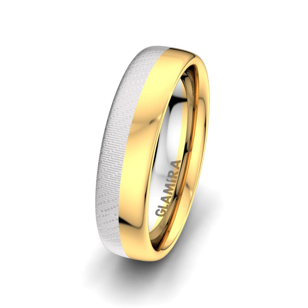 Men's Ring Sensual  Line 6 mm