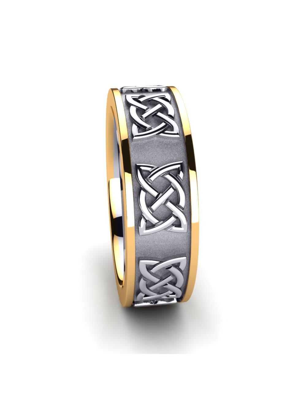 Women's ring Celtic Harmony