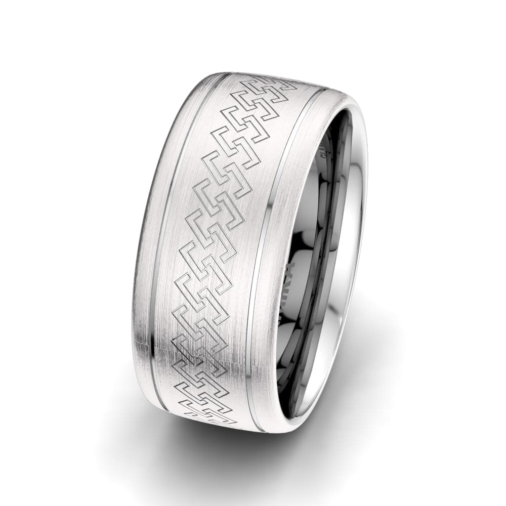 Men's Ring Exotic Chain 10 mm