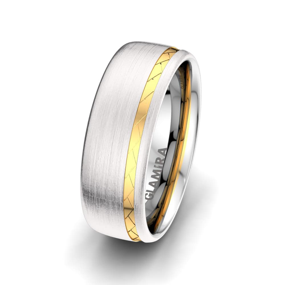 Men's Ring Gorgeous Light 8 mm