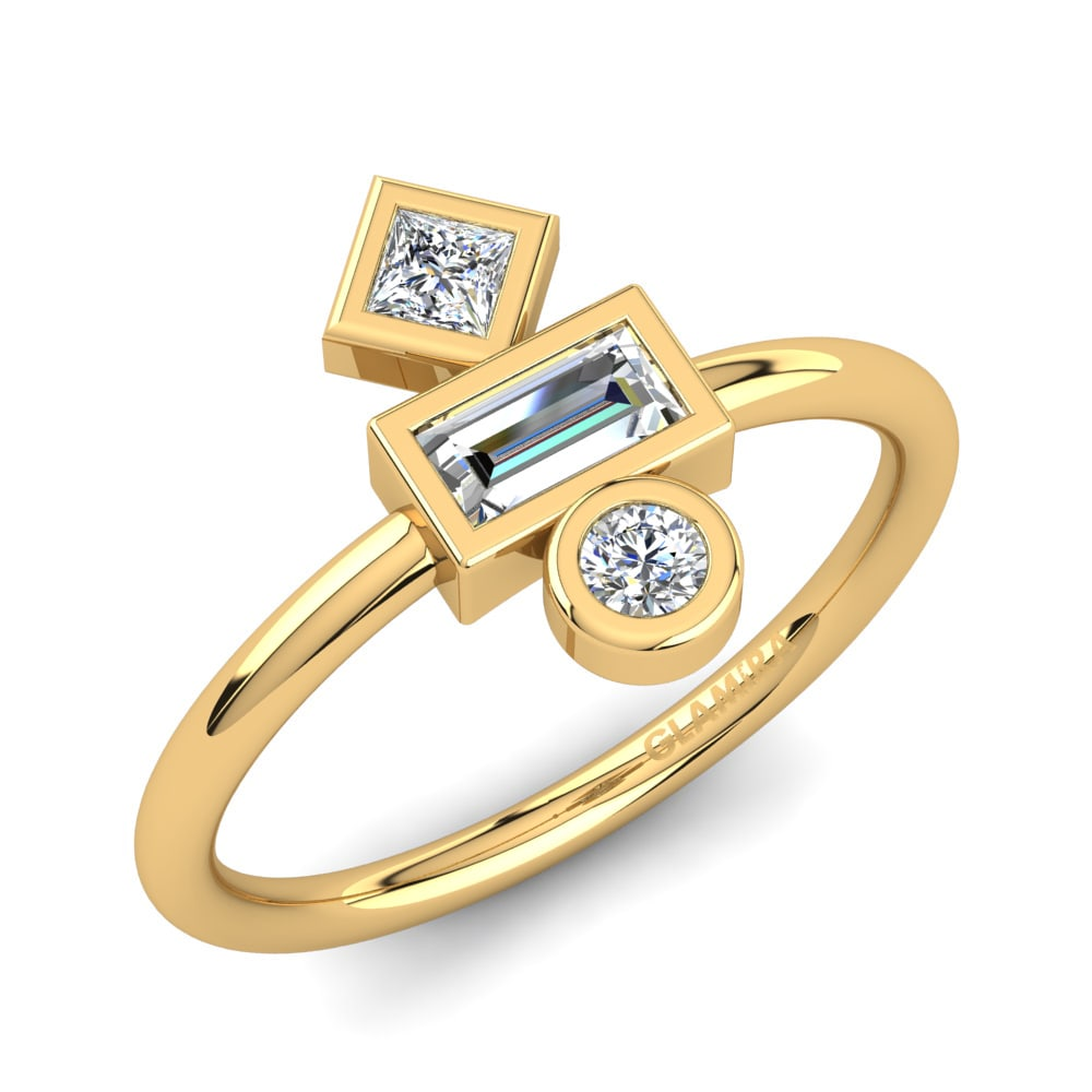 GLAMIRA Knuckle Ring Abrial