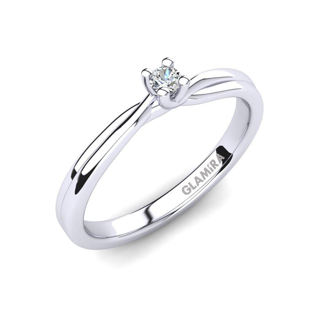 GLAMIRA Bague Bridal Bliss 0.05crt