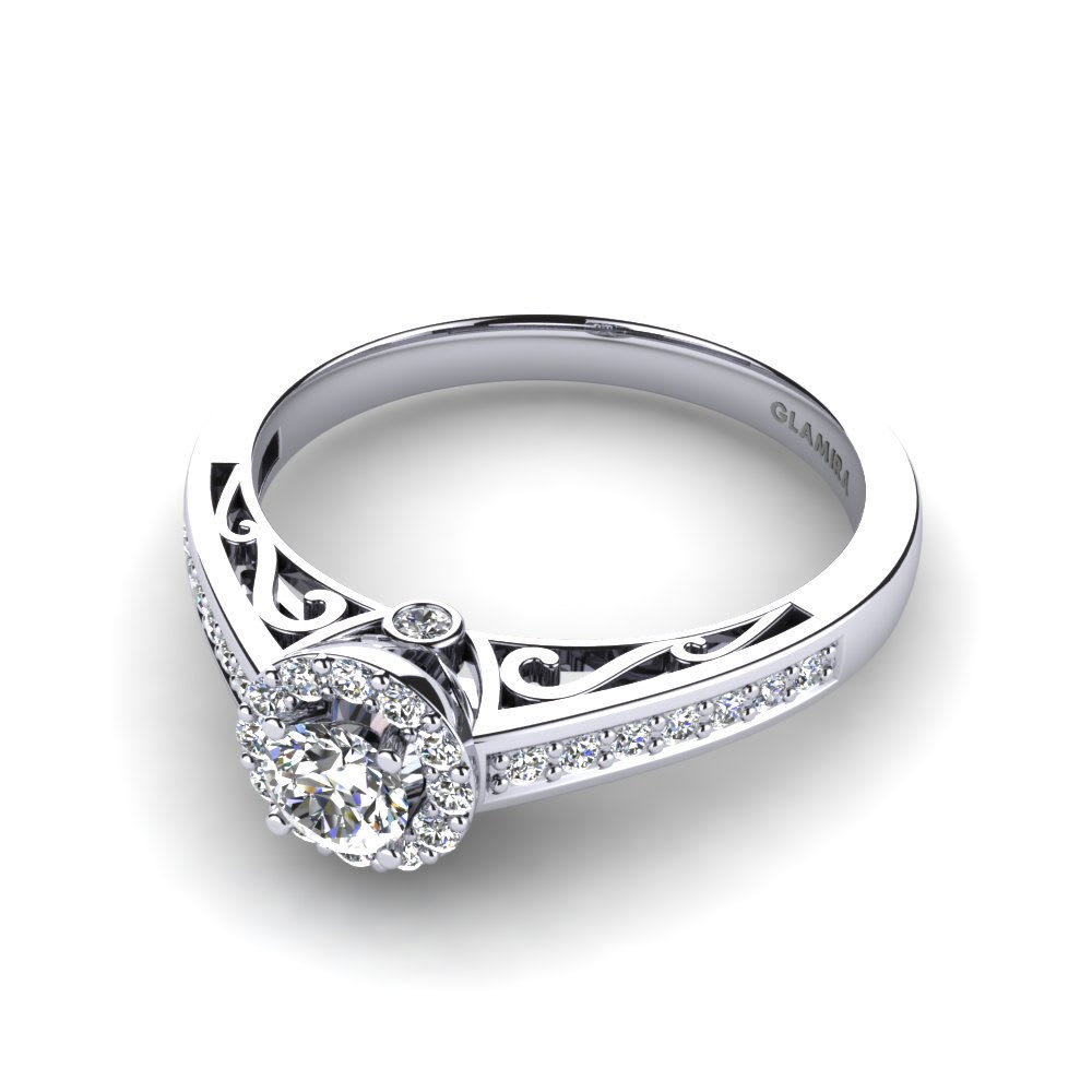 Buy GLAMIRA Diamonds Ring Estelle | GLAMIRA.co.uk