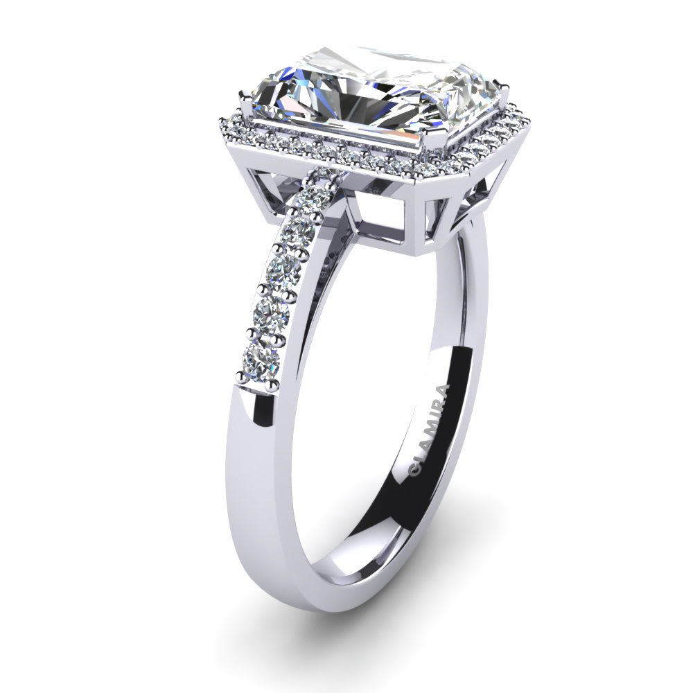 Buy GLAMIRA Diamonds Ring Saphira | GLAMIRA.co.uk
