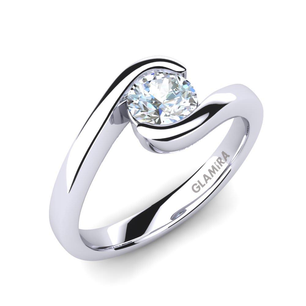 GLAMIRA Žiedas Bridal Luxuy 0.5crt
