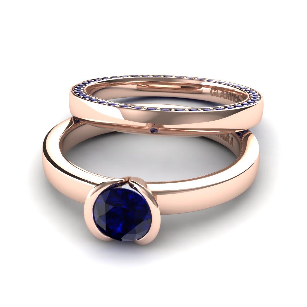 Spirit Jewels Anillo De Oro 9K Y Perlas Doble Blanco Perla: Ø 0,5 cm