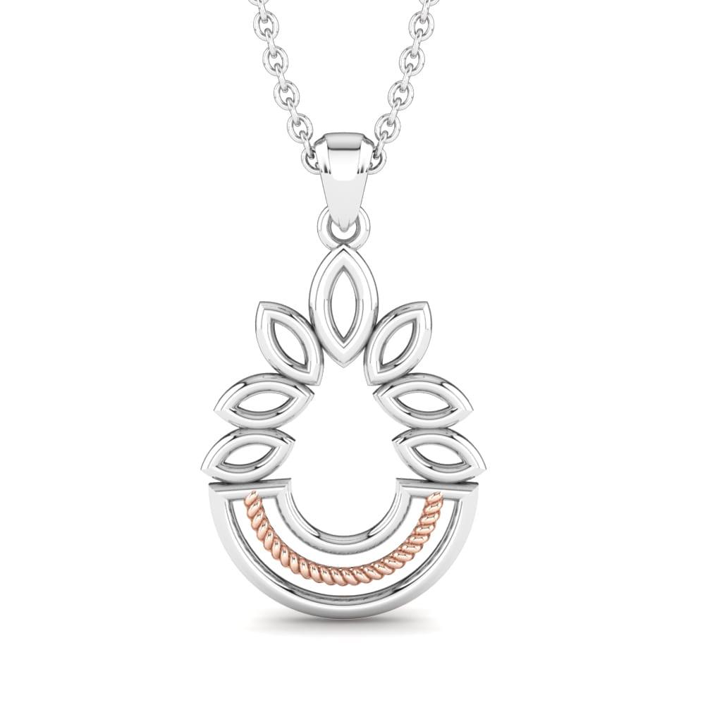 698249b739d5 Compre GLAMIRA Colgante Isadora Hoja Isadora online