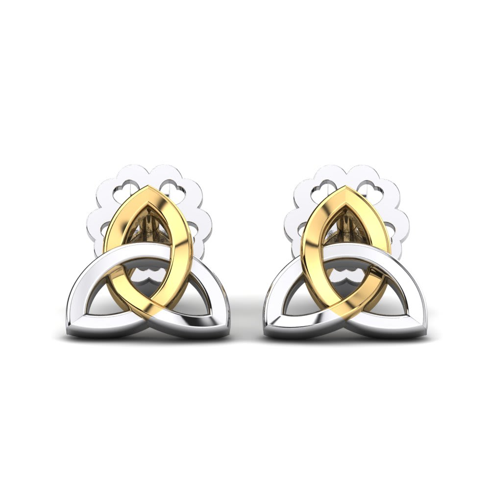 GLAMIRA Earring Lotus