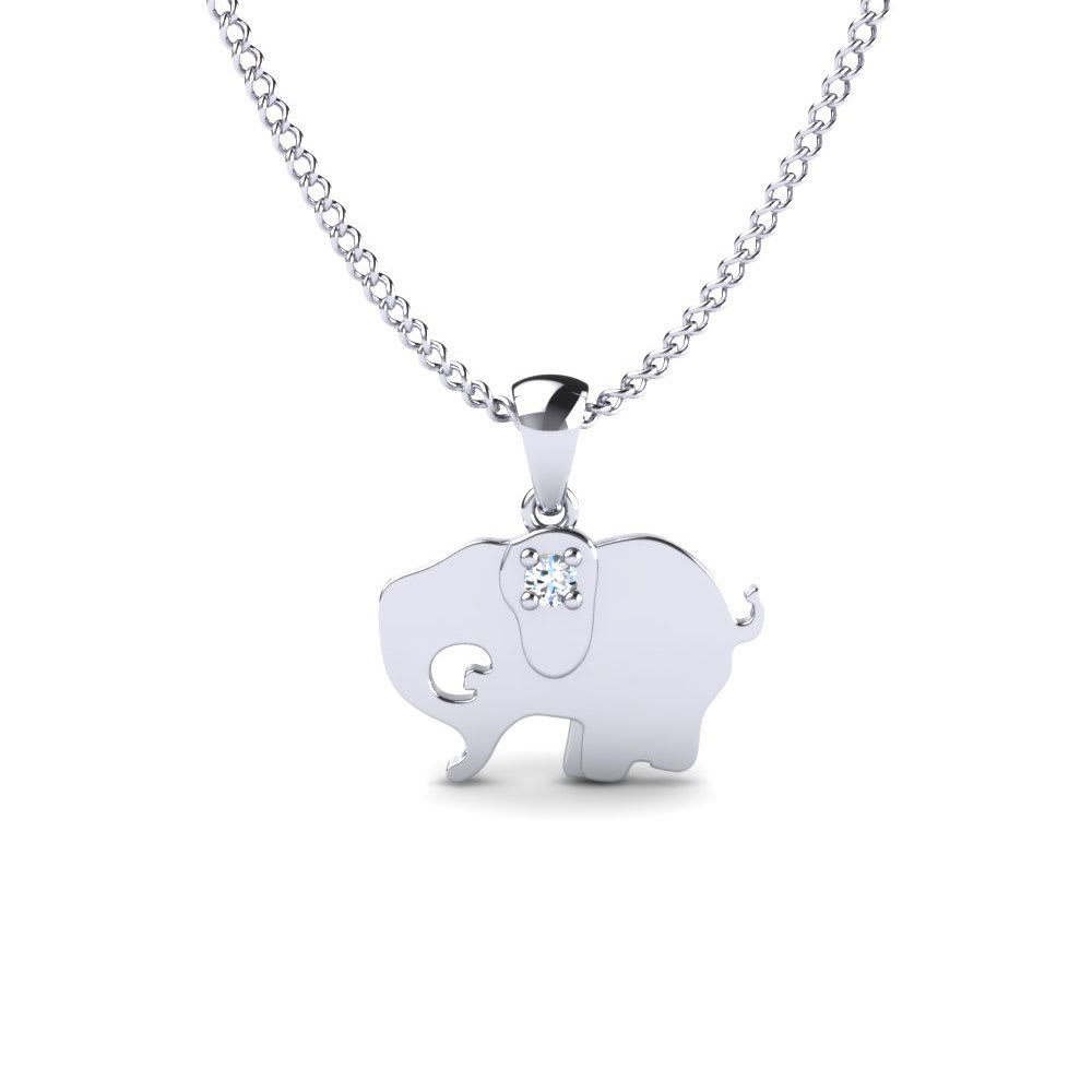 GLAMIRA Privezak Elephant