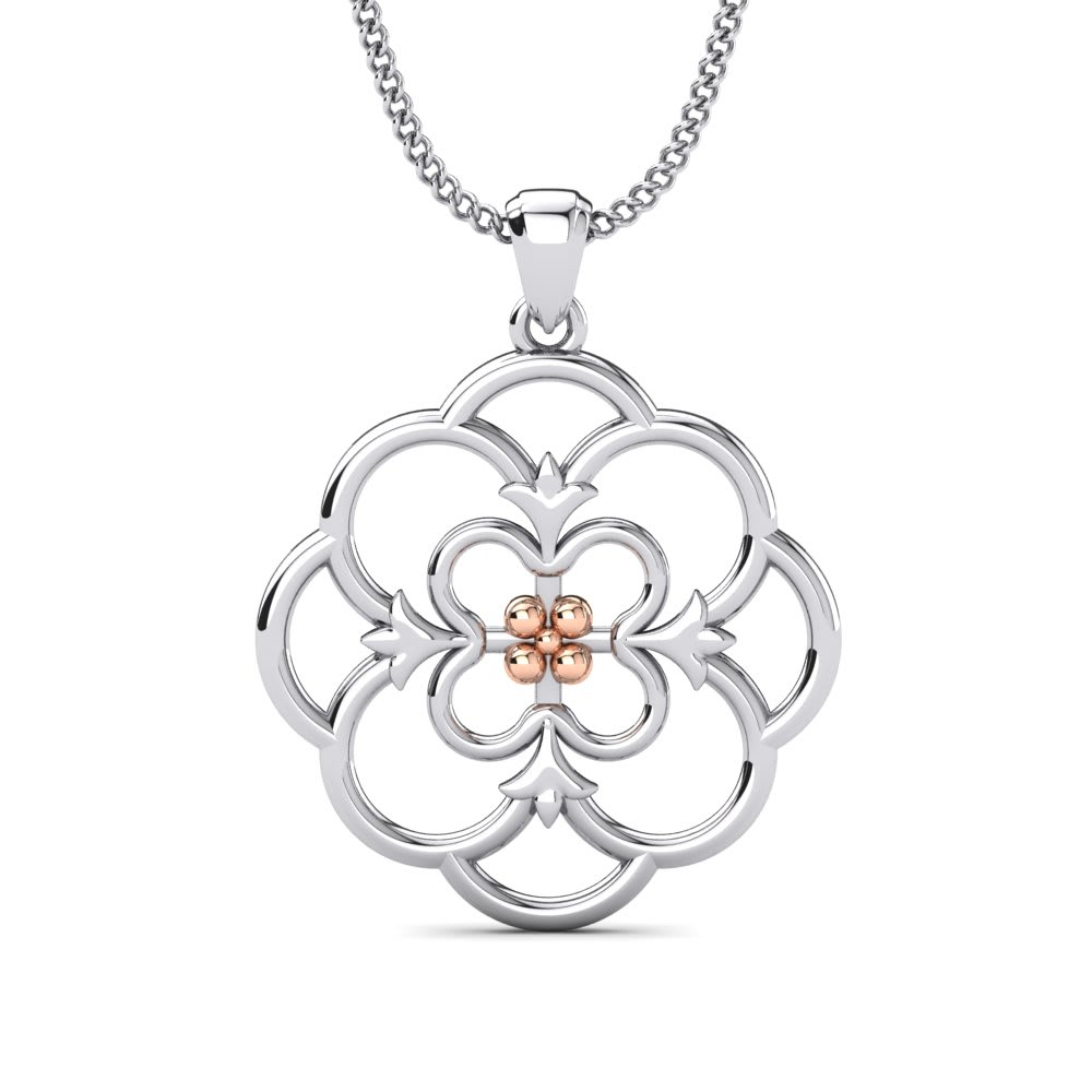 d7076fdfa654 Compre GLAMIRA Colgante Araceli Flor WSP-89 online