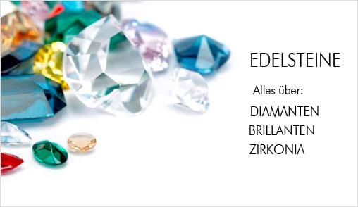 Diamanten - Brillanten - Zirkonia - Edelsteine