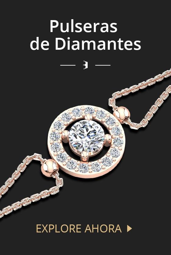 Pulseras de Diamantes