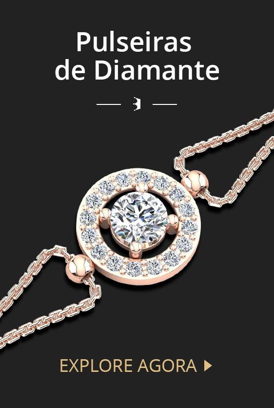 Pulseiras de Diamante