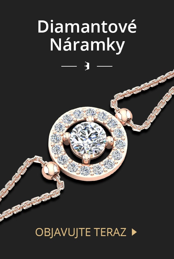 Diamantové náramky