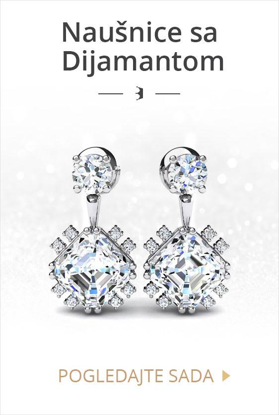 Naušnice sa Dijamantom