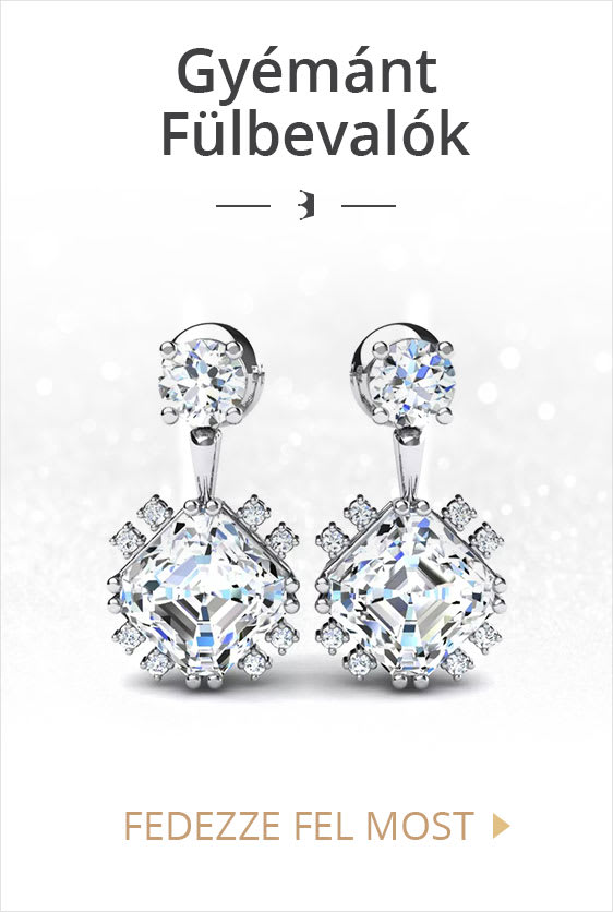 Gyémánt Fülbevalók