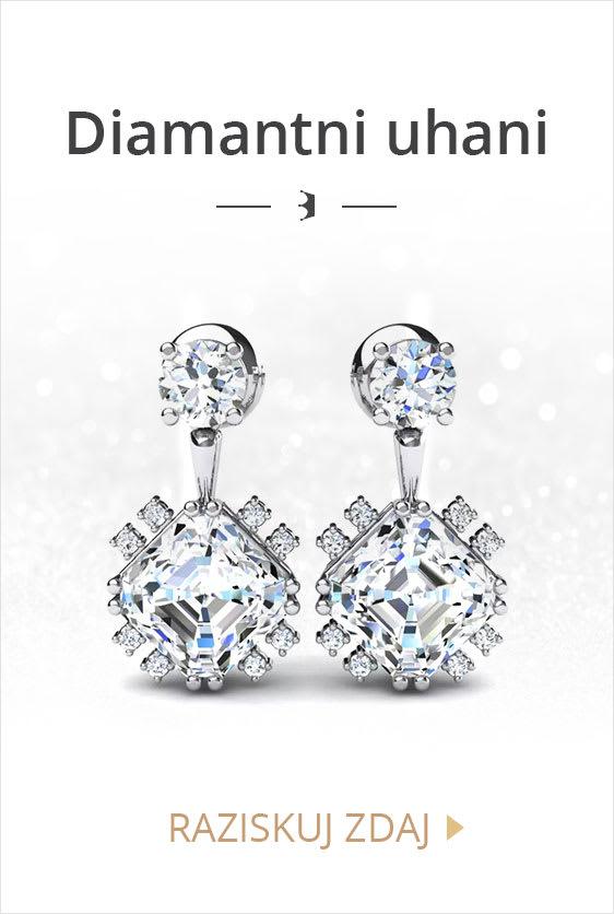 Diamantni Uhani