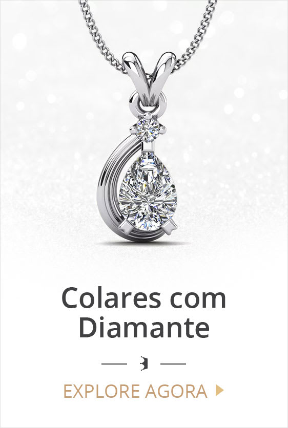 Colares com Diamante