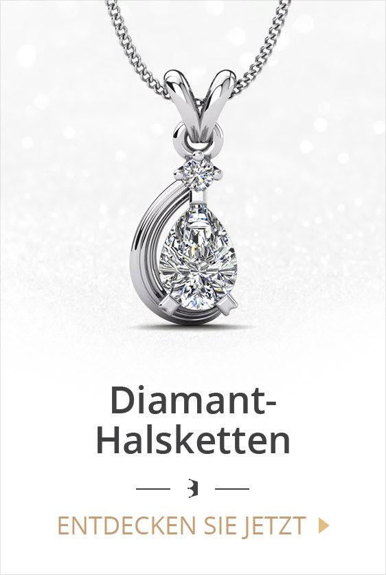 Diamant-Halsketten