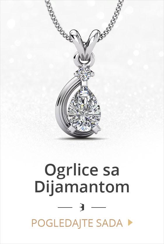 Ogrlice sa Dijamantom