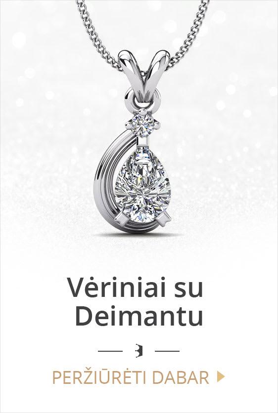 Vėriniai su deimantu