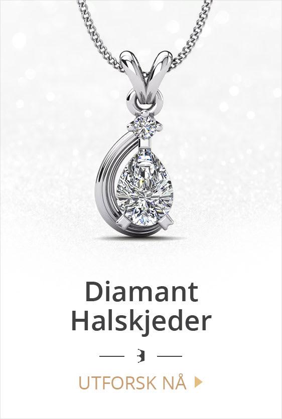 Diamant Halskjeder