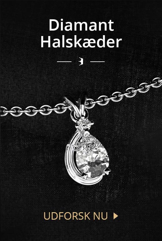 Diamant Halskæder