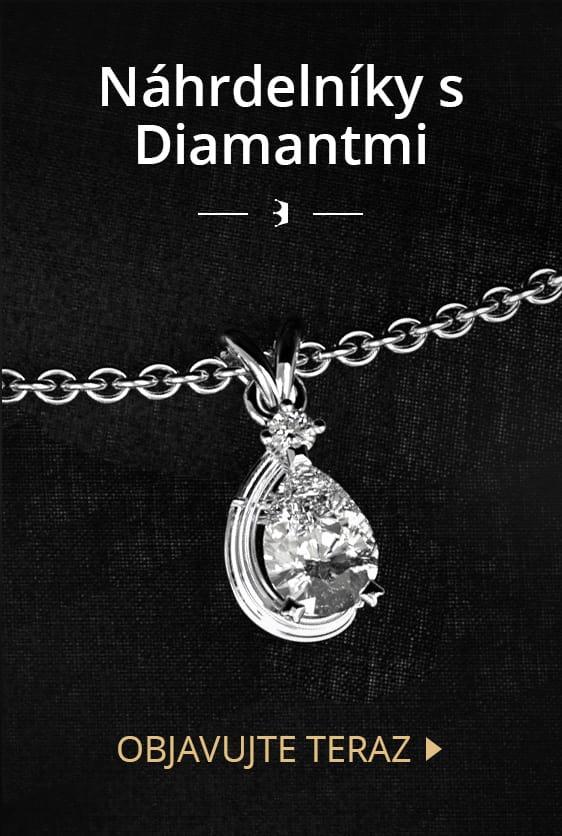 Náhrdelníky s diamantmi