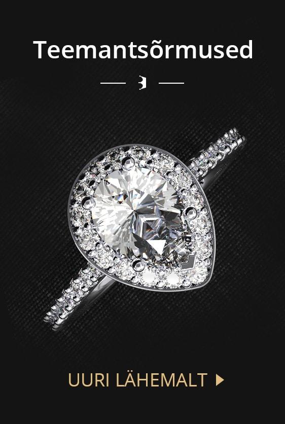 Teemantsõrmused