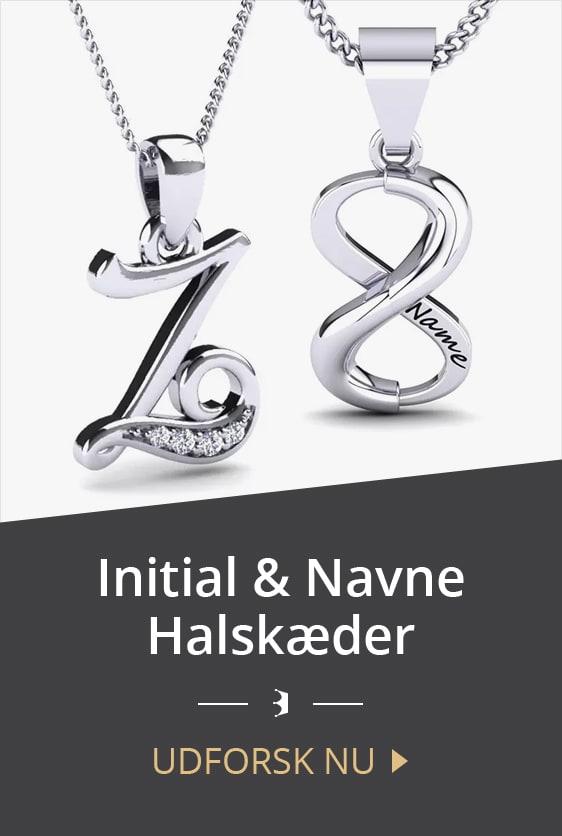 Initial & navne halskæder