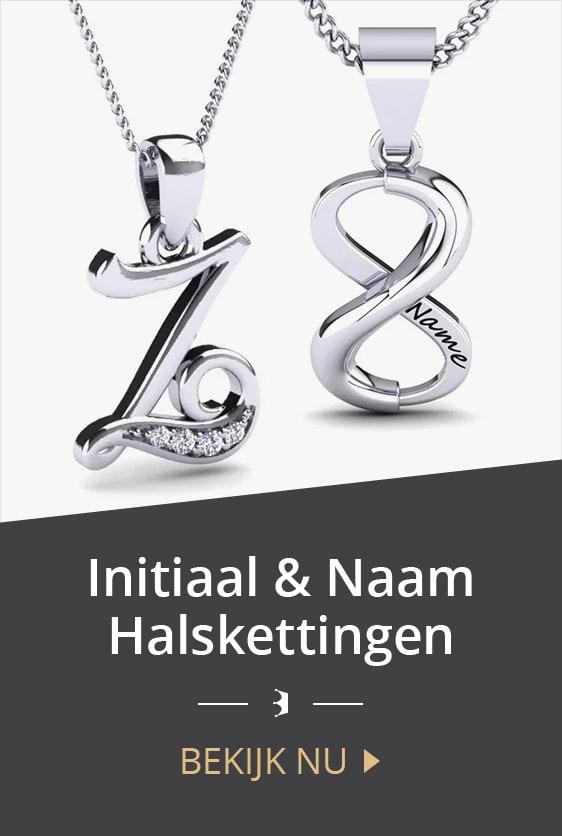 Initiaal & Naam Halskettingen