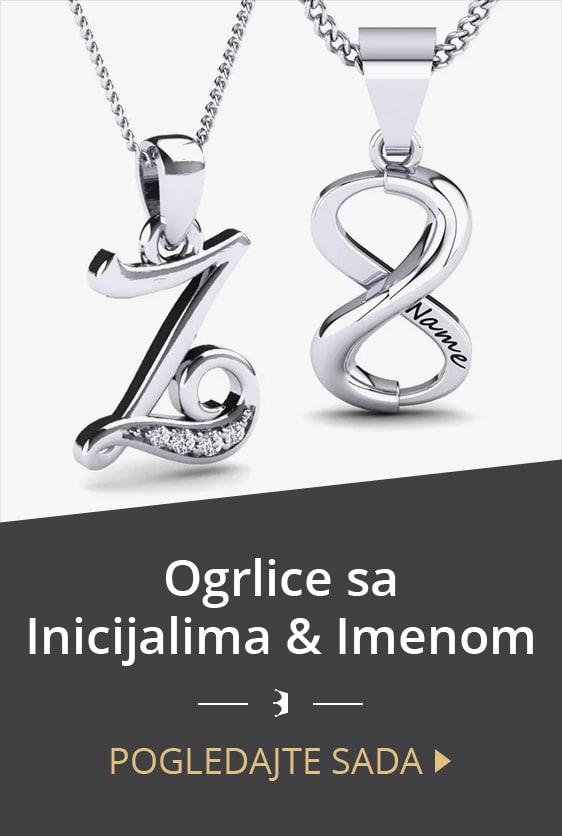 Ogrlice sa inicijalima & imenom
