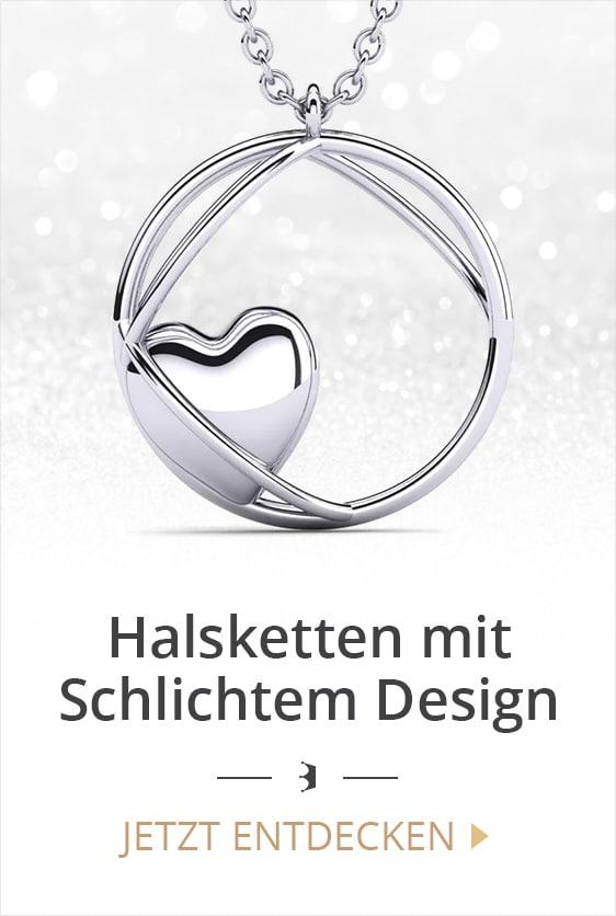 Halsketten mit schlichtem Design