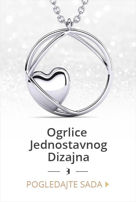 Ogrlice jednostavnog dizajna