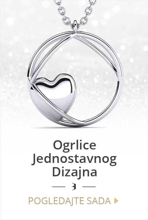 Jednostavan dizajn ogrlica