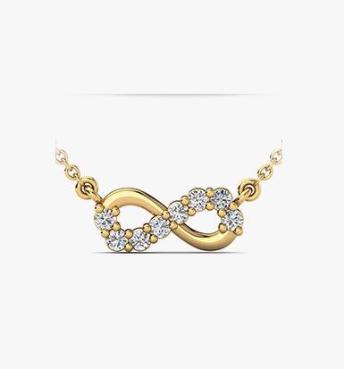 halsband med swarovski kristaller