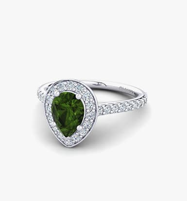 youtube gem engagement white tourmaline vvs watch rings diamond ring certified hqdefault jewelry green natural blue gold