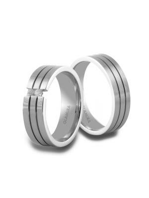 Silberringe Magnetic Duo